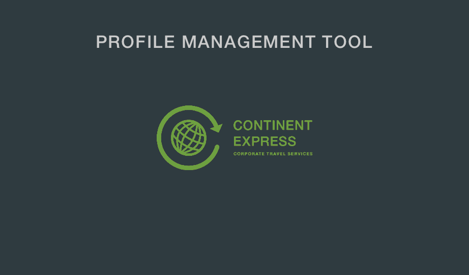 Profile management tool